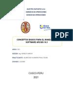 CONCEPTOS BASICOS PARA MANEJO DE ARCGIS
