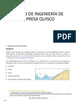 Diseño de Ingeniería de La Presa Quisco