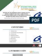 Diapositivas Semana 2020 Dionel Ropero