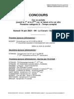 Programme Concours Cor Cosoliste