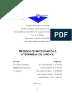 Trabajo escrito METODOLOGIA DE LA INVESTIGACION. 2da evaluacion