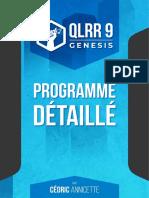 Programme+détaillé+QLRR9+Genesis+