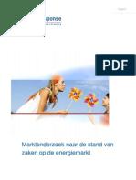 Rapport Marktonderzoek Naar de Stand Van Zaken Op de Energiemarkt_tcm16-143892