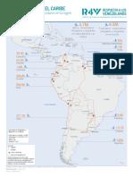 mapa de migrantes oct 2019 R4V