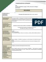 PLANILLA DE PLANIFICACIÓN MENSUAL ABRIL- MAYO