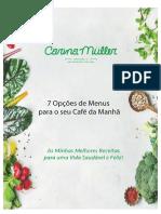 Carina Müller PDF Receitas Saudávels