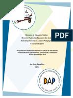 Dosificación I y II Ciclos 2019