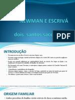 NEWMAN E ESCRIVÁ