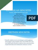 Gangguan Sinusitis