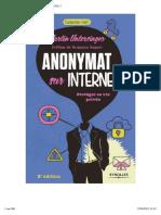 Anonymat Sur Internet _ Protéger Sa Vie Privée Ed.2