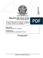 projeto Pnaes Lei Jandira feghali Avulso--PL-8739-2017