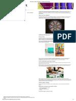 Cómo Hacer Vitrales en Tres Pasos - Tutoriales Arte de Totenart