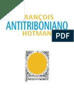 Antitriboniano e o Discurso Sobre o Estudo Das Leis