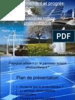 TPE 2008 2009 PPT Le Panneau Solaire.pps