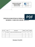 ESPECIFICACIONES TÉCNICAS SCI