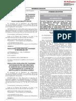 Decreto Supremo Que Prorroga El Estado de Emergencia Naciona Decreto Supremo n 076 2021 Pcm 1944838 1