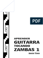 aprender GUITARRA  tocando ZAMBAS 01 - Adrian Temer