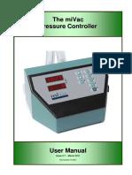Genevac - Manual (Pressure Controller - Issue 2-7_PT)