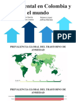 Salud Mental en Colombia y el mundo