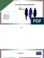 Women Safety Application Presentation