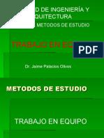 METODO_DE_ESTUDIO Trabajo en equipo