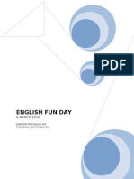 ENGLISH FUN DAY