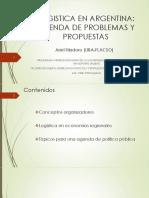 Logistica en Argentina - Agenda y Problemas