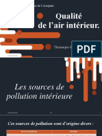 Qualité d'air