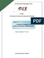 Chap 1 Concepts et langages des BDR(mod)