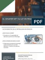EL CENAMEP AIP Y SU LEY EN PANAMÁ