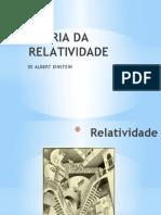 Aula 02 - TEORIA DA RELATIVIDADE