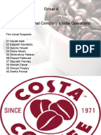 costa coffee marketing mix Brand positioning strategies of coffee shops  a comparative study of starbucks & costa coffee  organizations have to practice the elements in the marketing mix .
