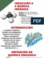 Introduccion a La Quimica Organica