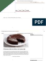 10 Receitas de Bolo Sem Glúten e Sem Lactose Light - MundoBoaForma.com.br