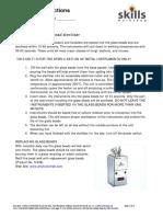 L1L2 Reading instructions for a glass bead steriliser (for Hair & Beauty)