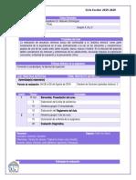Planeación Didáctica 2019-2020 ARTES