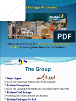 Roshan Packages (Pvt Ltd) Profile