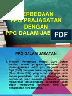 PERBEDAAN PPG dalam jabatan 2021 dengan PPG Prajabatan 2021