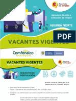 Vacantes+Agencia+Aburrá+Norte