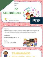 matematica jueves 15 de Abril