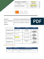 OG-P05 -PRELOSAS- PROCEDIMIENTO DE ENCOFRADO, COLOCACION DE ACERO Y SELLADO DE JUNTAS