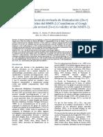 Escala Revisada Disimulacion Ds-r