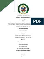 Evaluación de Impacto Ambiental del Rio Higuamo