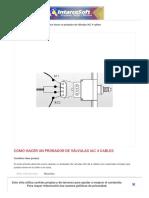 Como hacer un probador de Válvulas IAC 4 cables