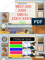 First Aid and Drug Education