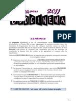 Programme Et Affiche Geocinema 2011 - Ok