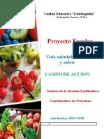 Proyecto Escolar Color y Sabor