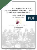 El Tratado de Tapihué de 1825