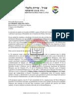 Carta a la congresista Katherine Miranda sobre impuestos a las iglesias en Colombia