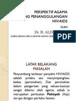 3. Persfektif Agama Tentang Penanggulangan Hivaids